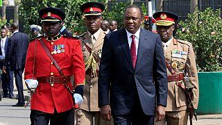 Kenyatta slams 'destructive division,' opposition boycott parliament opening