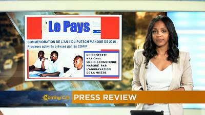 Revoir la revue de presse du 13-09-2017 [The Morning Call]