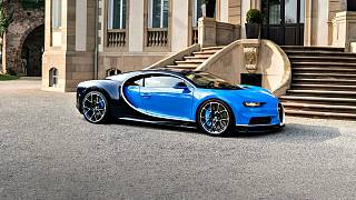 Bugatti breaks world speed record