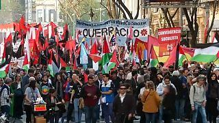 Netanyahu'nun ziyareti Arjantinlileri sokağa indirdi