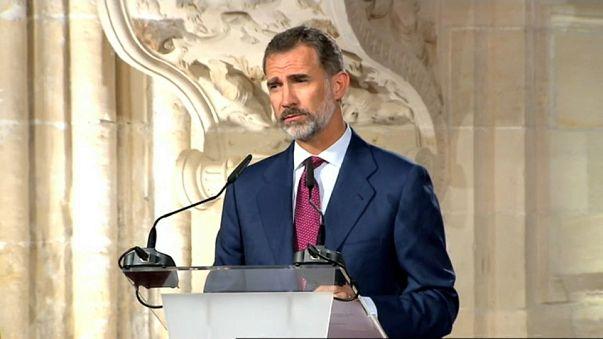 """Felipe VI afirma que """"Constituição prevalecerá"""""""