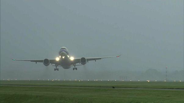 Orkan Sebastian wirbelt Niederlande und Deutschland durcheinander