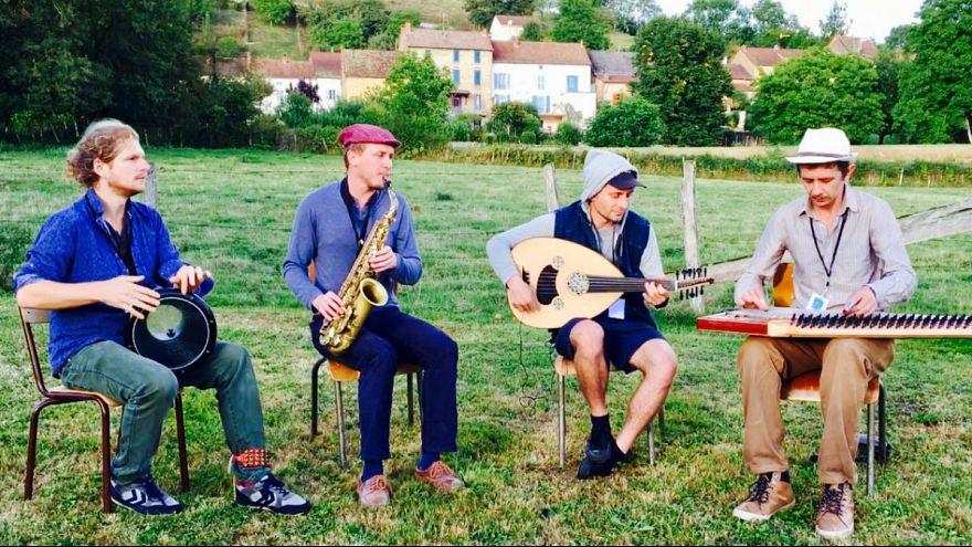 Osmanlı müziği yapan Avrupalılar: Meşkhane