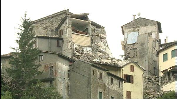 """Dall'UE 1.2 miliardi all'Italia per il terremoto. Il sindaco di Amatrice a euronews:""""finora nessun intervento europeo"""""""