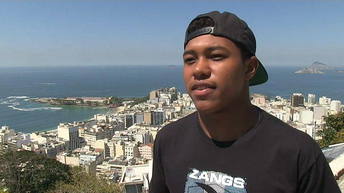 Bodyboarder Socrates Santana (18) - Weltmeister in Lebenserfahrung