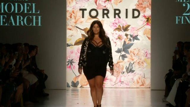 """Plus-size"" na Semana da Moda de Nova Iorque"