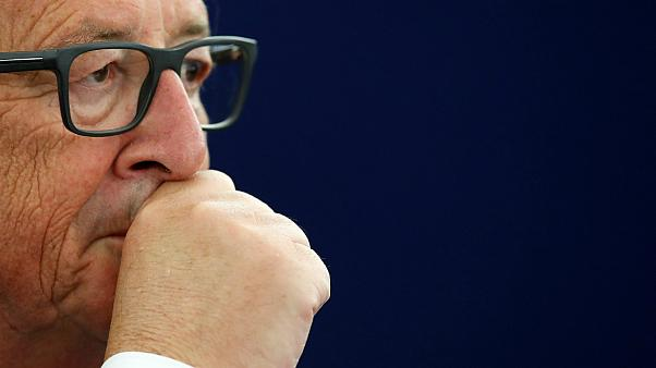 How did the Internet react to Juncker's State of the Union speech?