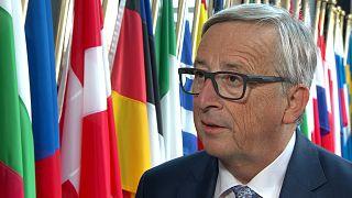 """Juncker: """"Hemos que trabajar con los responsables que están en Libia"""""""