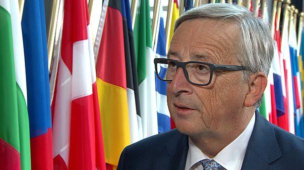 """Juncker, Líbia e refugiados: """"As coisas precisam de mudar"""""""