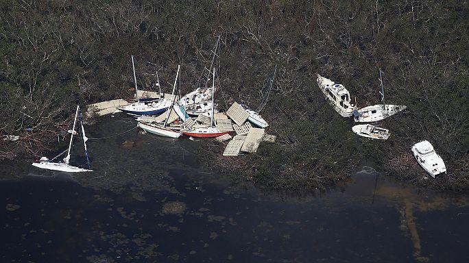 """شاهد: فلوريدا قبل وبعد اعصار """"إيرما"""""""
