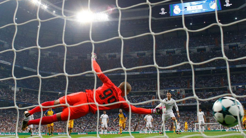 Лига чемпионов: 2-ой день 1-го тура