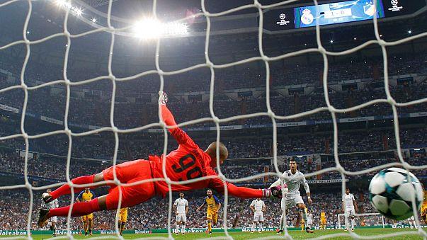 Ligue des champions : Madrid facile, Monaco accroché