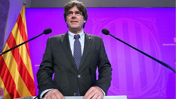 """Puigdemont sigue adelante y dice que """"el TC ya no altera el referéndum"""""""