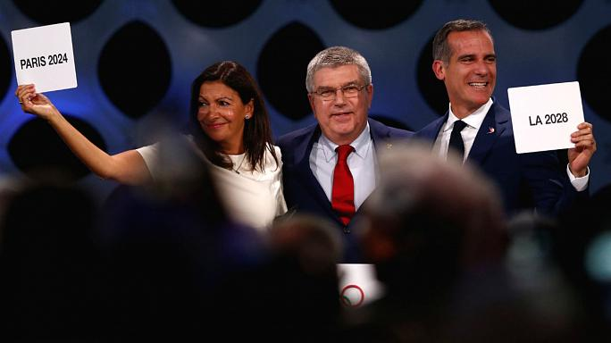 Paris 2024-Los Ángeles 2028: diplomacia olímpica
