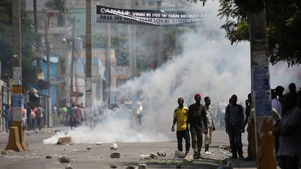 Violence erupts as Haitians vent fury over tax hikes