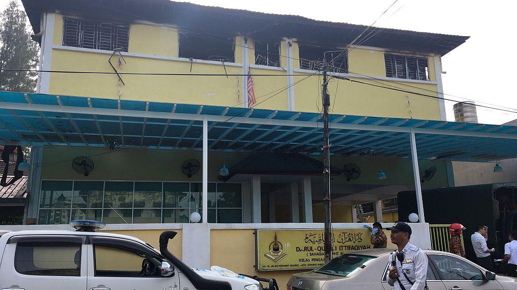 Malezya'daki okul yangını 25 can aldı