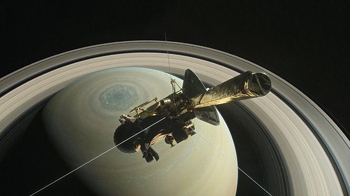 Fim da missão da sonda Cassini