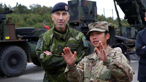Sweden hosts huge war games exercise with NATO