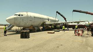 1977 hijacked plane to be restored in Germany