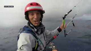 Weltrekord im Kitesurfen