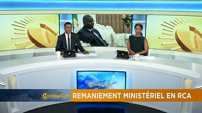 Govt cabinet reshuffle in C.A.R [The Morning Call]