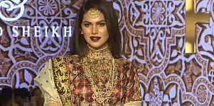 Pakistan Moda Haftası'nda çağdaş ve geleneksel çizgiler bir arada