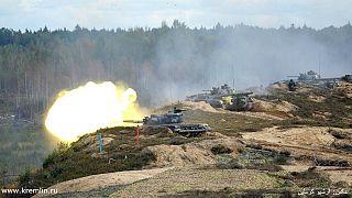 Orosz hadgyakorlat kezdődött