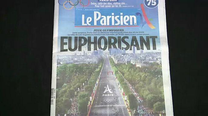 La prensa francesa celebra la concesión de los JJOO a París