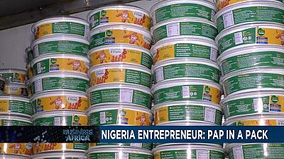 Nigerian entrepreneur turns traditional meal into hot commodity [Business Africa]