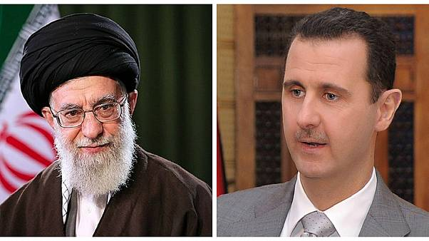 بشار اسد پایان محاصره دیرالزور را به رهبر ایران تبریک گفت