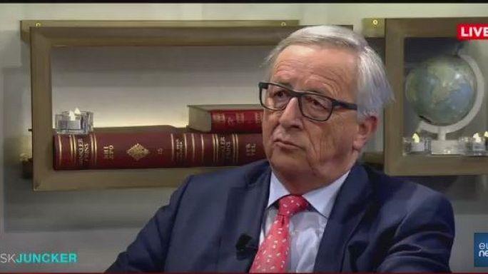 Juncker: Respetaríamos una Cataluña independiente pero debería pasar por la adhesión