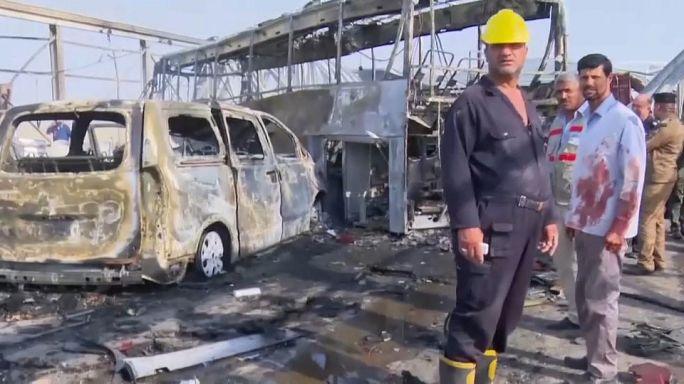 Двойное нападение на юге Ирака: десятки жертв