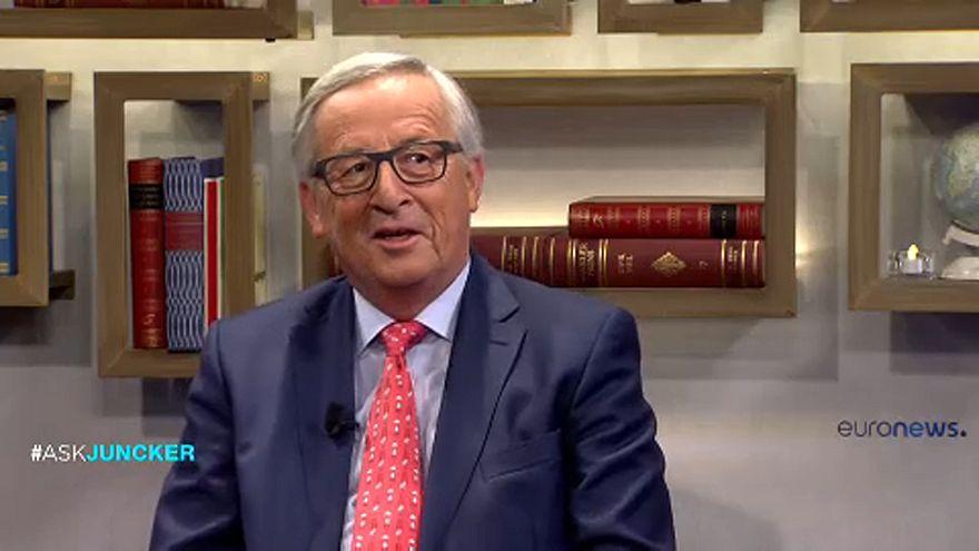 """جون كلود يونكر ليورونيوز:""""استقلال كتالونيا سيبعدها عن الاتحاد الأوروبي"""""""