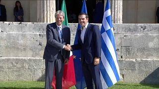 A Corfù il vertice bilaterale Italia-Grecia