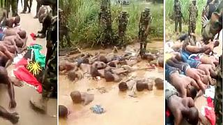Nigeria army to probe 'humiliating' mistreatment of pro-Biafra activists