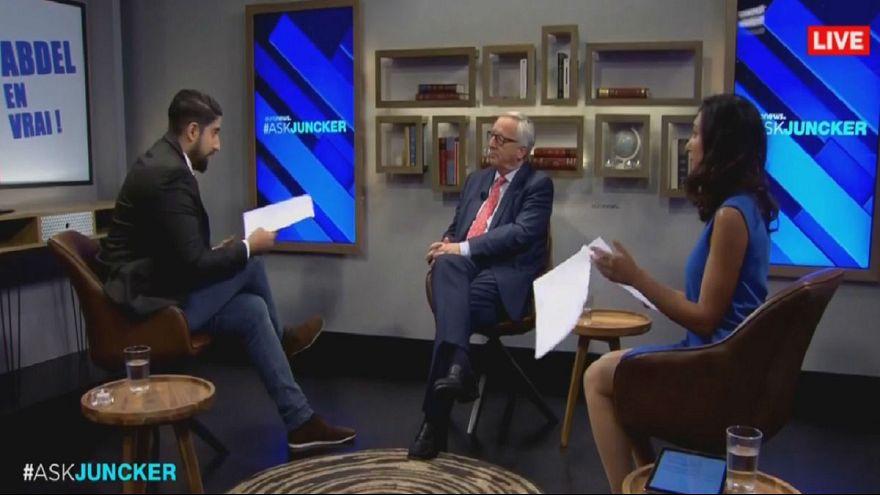 Juncker sobre as comunidades muçulmanas na Europa