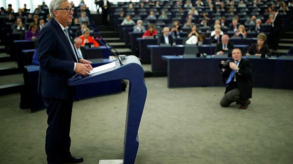 Juncker hayvan kesiminin yasaklanmasıyla ilgili soruları yanıtladı