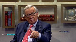 Juncker responde a las preguntas de los ciudadanos y de los youtubers