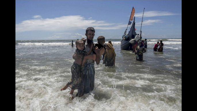 Arakanlı Müslümanları taşıyan tekne alabora oldu: 2 kişi öldü