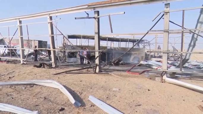 At least 50 dead in three suicide attacks in southern Iraq