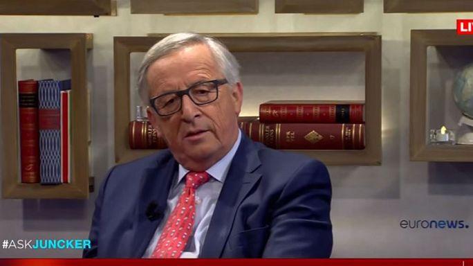 Video: cinco momentos clave de la entrevista a Jean-Claude Juncker #AskJuncker