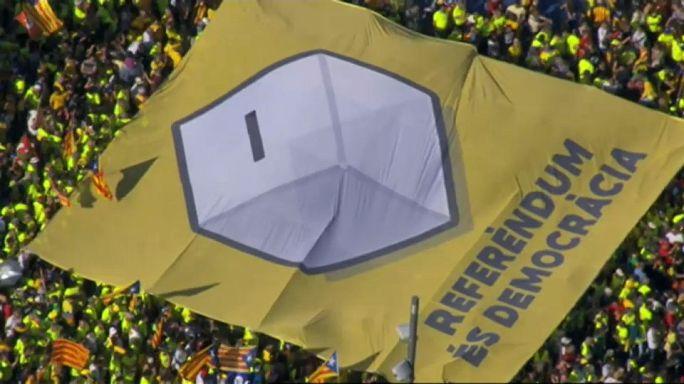 Arranca la campaña para el referéndum independentista del 1 de octubre en Cataluña