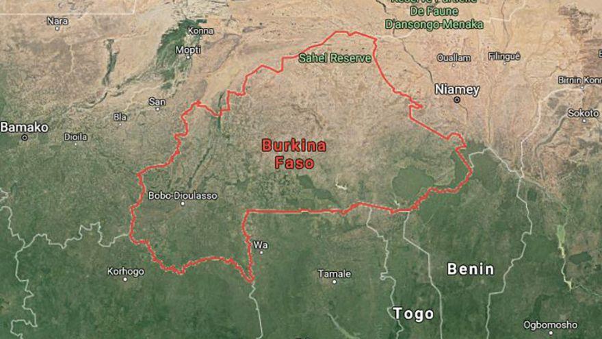 Image: Map of Burkina Faso