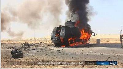 Égypte : L'EI revendique l'attaque contre des soldats
