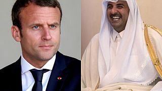 أمير قطر في باريس لتعزيز علاقات الدوحة مع الدول الأوروبية