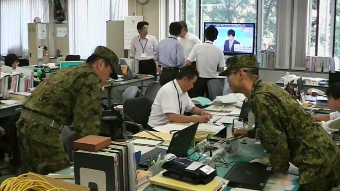 Készültség Japánban