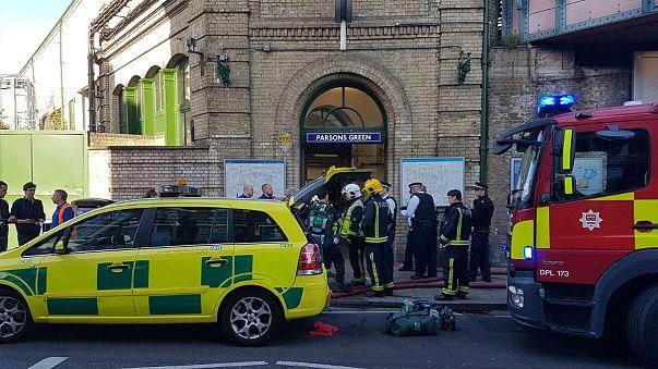 Police treating London Underground explosion as 'terrorist incident'