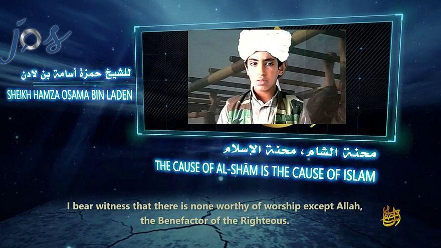 """نجل بن لادن يدعو لقتال """"العدو الصليبي"""" في الشام"""