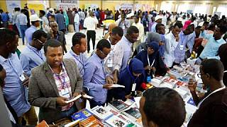 Large turnout at Mogadishu Book Fair, Somali president hails reading culture