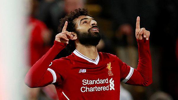 المصري محمد صلاح يفوز بجائزة افضل لاعب في الجولة الأولى بدوري أبطال أوروبا